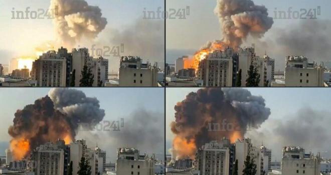 Liban: deux explosions au centre de Beyrouth font plus de 78 morts et 3 700 blessés