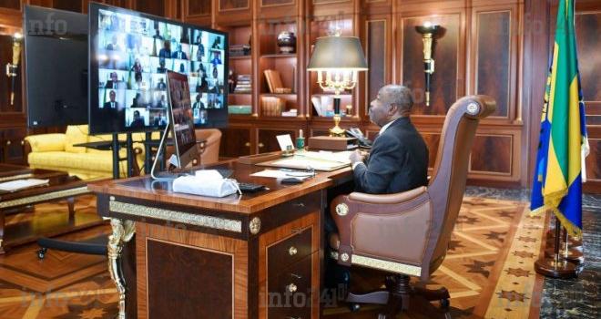 Après un mini-remaniement, Ali Bongo convoque un conseil des ministres virtuel ce matin