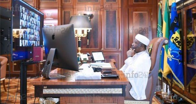 Ali Bongo convoque un nouveau conseil des ministres virtuel ce matin à Libreville