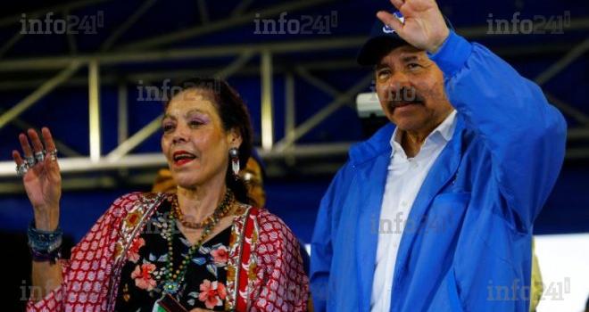 Nicaragua: Le président Daniel Ortega et sa femme candidats à un 4e mandat consécutif