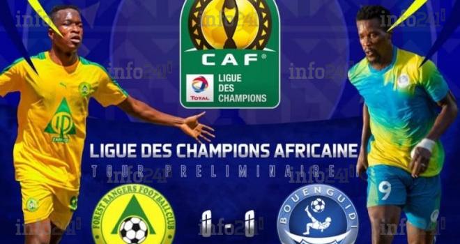 Ligue des champions: Bouenguidi Sports et Forest Rangers FC se séparent sur un score vierge