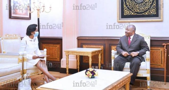 Prestation de serment du gouvernement: Mborantsuo reçue en audience par Ali Bongo