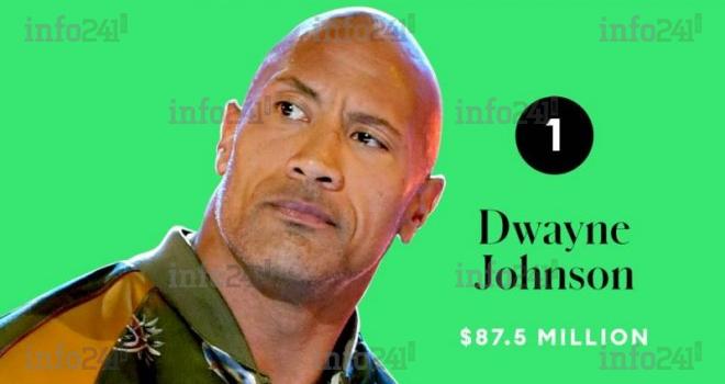 Dwayne Johnson «The Rock», l'acteur le mieux payé du monde en 2020!