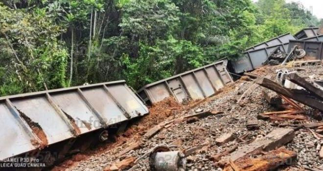 Un nouveau déraillement de train provoque la suspension du trafic ferroviaire à la Setrag