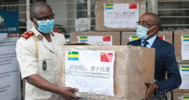 Le ministère gabonais du Pétrole offre 50 000 masques chinois au Copil Coronavirus