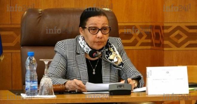 Lucie Milebou Aubusson réélue pour un second mandat à la tête du Sénat gabonais!