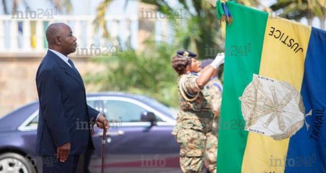 Ali Bongo a célébré sa Journée nationale du drapeau sur Twitter et Facebook