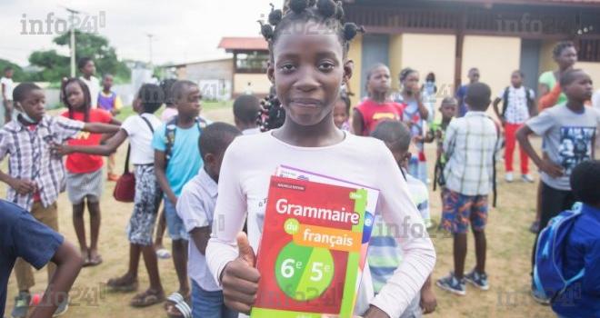 33 309 élèves admis en 6e dans les lycées et collèges du Gabon pour la rentrée 2021-2022