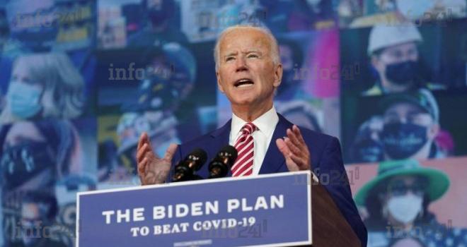 Etats-Unis/Présidentielle: Joe Biden promet la gratuité du vaccin contre le coronavirus