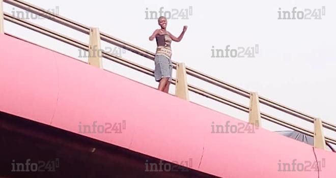 Cocufiée, une jeune gabonaise tente de se suicider sur un échangeur à Libreville