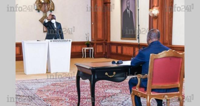 Retardataire, le ministre Brice Paillat a prêté serment hier devant Ali Bongo