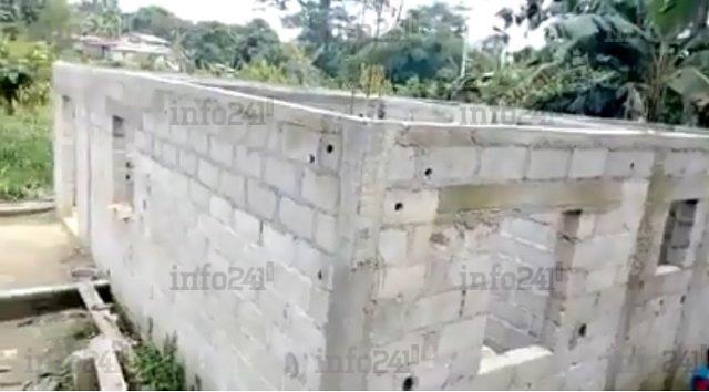 La SNI va aider l'artiste Ndong Mboula à finir sa maison