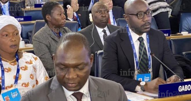 Biendi Maganga Moussavou à Rome pour le 43e conseil des gouverneurs du FIDA