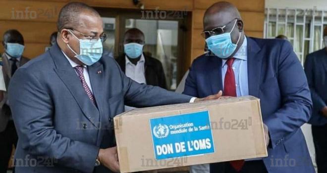 Le Gabon reçoit un don de masques, de combinaisons et de gants de l'OMS