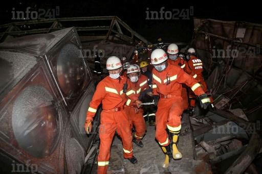 Coronavirus:  l'effondrement d'un hôtel de mise en quarantaine fait 6 morts en Chine