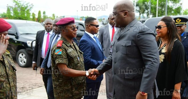 RDC: les militaires sommés de ne pas comploter contre le président Tshisekedi