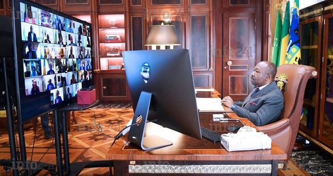 Ali Bongo réunira virtuellement ce lundi son gouvernement en conseil des ministres