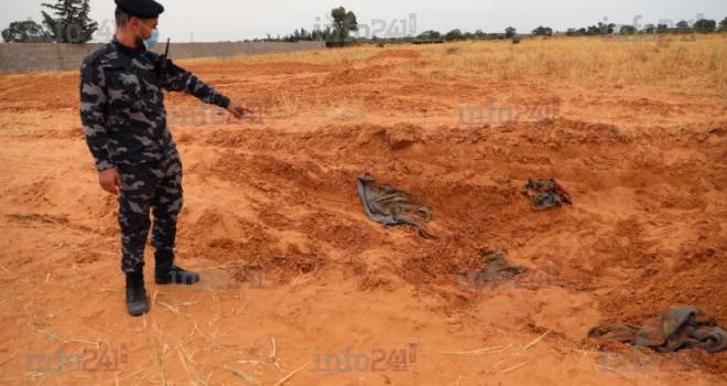 Crise en Libye: au moins 8 charniers découverts dans le pays
