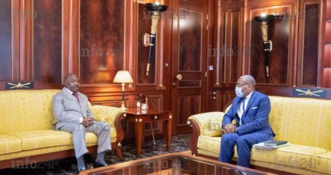 Ali Bongo a reçu au palais présidentiel le secrétaire général de son propre parti!