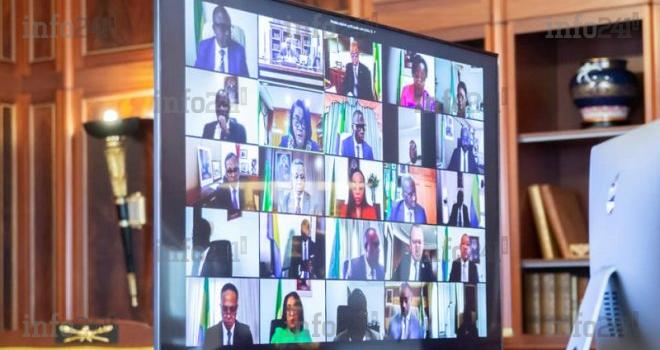 Un nouveau conseil des ministres virtuel convoqué pour ce mardi matin à Libreville