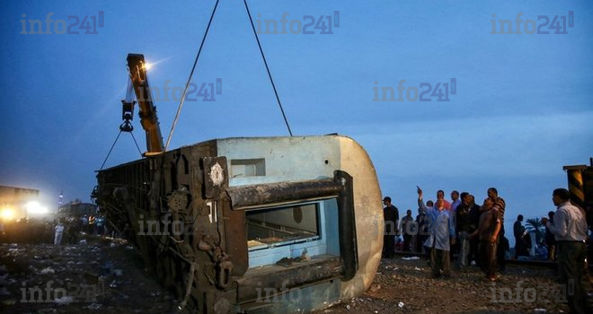 Egypte: Un déraillement de train fait 11 morts et près de 100 blessés
