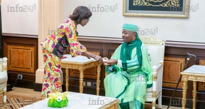 Un émissaire de Felix Tshisekedi reçu en audience au palais présidentiel de Libreville