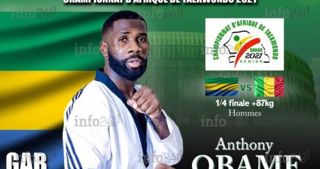 Championnats d'Afrique: Anthony Obame face à Nouhoum Diawara cet après-midi à Dakar!