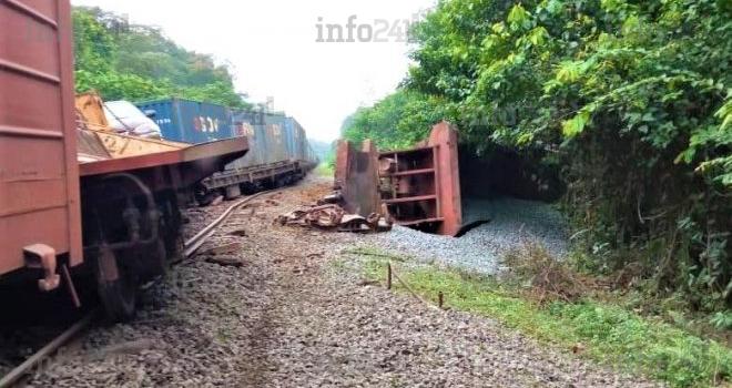 Un nouveau déraillement de train sur le réseau de la Setrag dans l'Estuaire