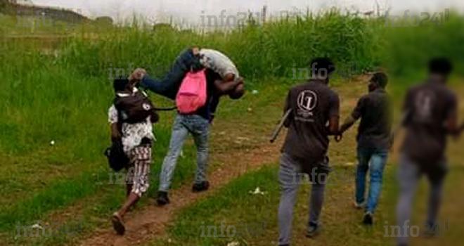 Un braqueur présumé appréhendé par des étudiants à l'Université Omar Bongo